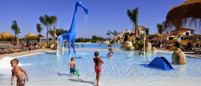 Camping Els Prats, piscinas de la ampliación. - experiencia